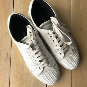 Rebecca Minkoff White molded Toe Sneaker 👟